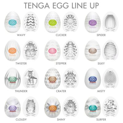 Tenga Egg – 6 Units Pack