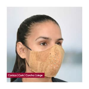 Reusable Cork Protection Mask