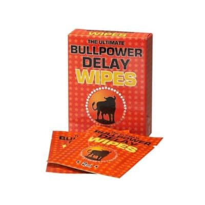 BullPower Delay Wipes (6 units)